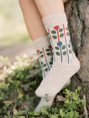 Marja socks Novita Nalle and Nordic Wool