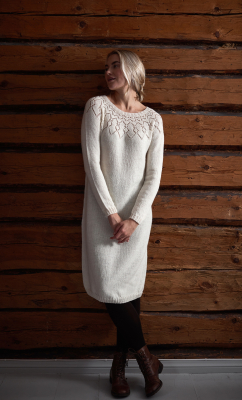 Women's knitted dress Novita Venla