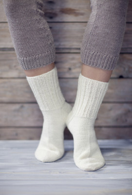 Basic Socks Novita Nalle (Teddy Bear)
