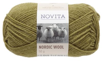 Novita Nordic Wool-337 moss