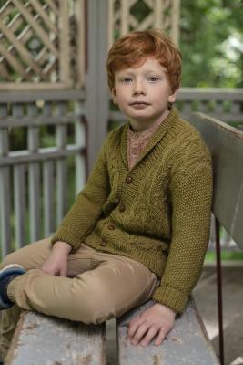 Anton-neuletakki Novita Nordic Wool
