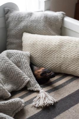 Tähkä Herringbone Pillow Novita Isoveli