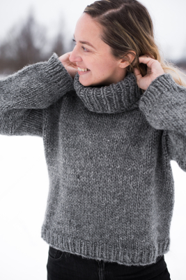Aarnio-neulepusero Novita Hygge Wool