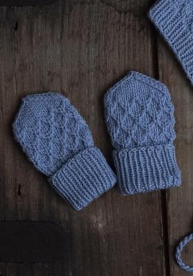 Novita Merino DK: Sintti mittens