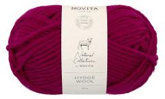 Novita Hygge Wool-580 icy cranberry