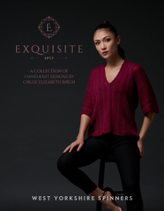 Exquisite 4ply Pattern Book - Chloe Birch Collection