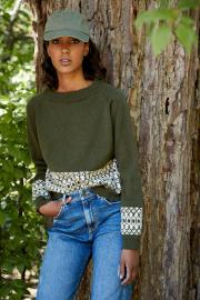 Novita Merino 4PLY: Taimi colourwork sweater