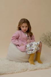 Novita Muumitalo: Hippasilla (Playing Tag) knitted cardigan