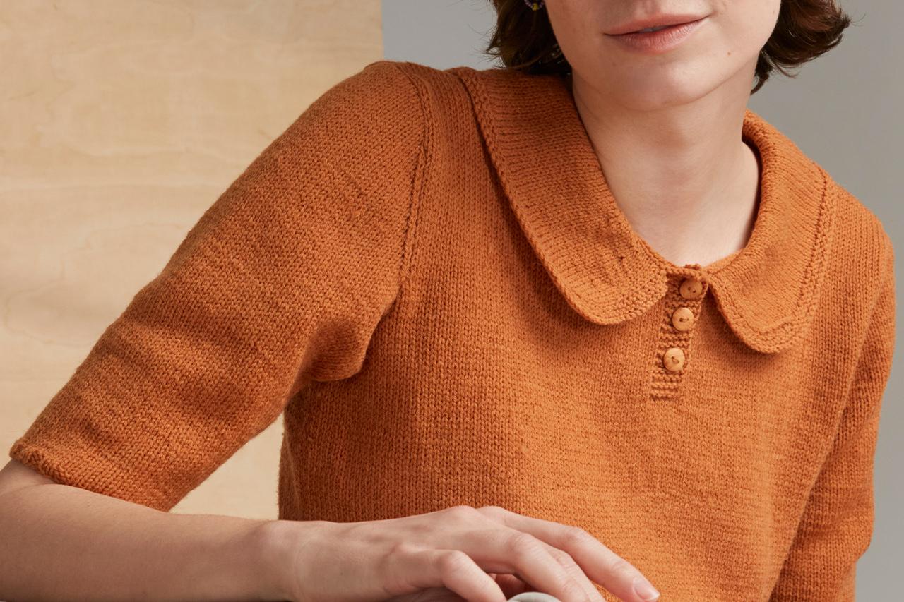 Sommaren 2021, Modell 17, Härlig – T-shirten Novita Merino 4PLY