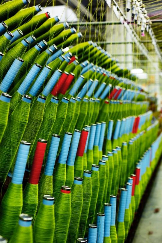 Novitas fabrik drivs med ekologisk energi